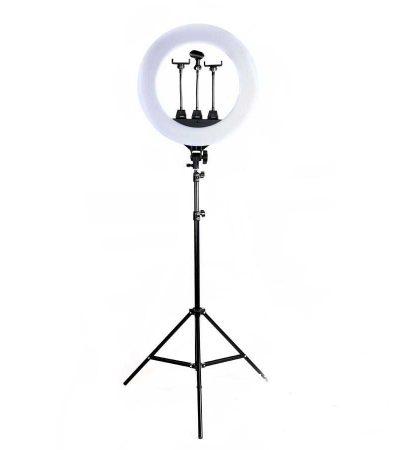 кольцевая лампа ZB-R18 на штативе