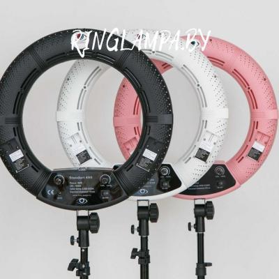 кольцевые лампы в трех цветах